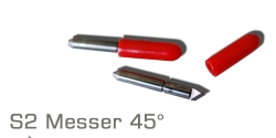 S2 Messer Rot 45°